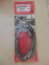 GSF 1200 POP K1 K2 K3 K4 STAHLFLEX vorne & hinten & Kupplung GSF1200S brake hose