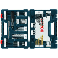 Bosch MS4091 91-Piece Drill and Drive Mixed Bit Set w/ Hard Plastic Case New