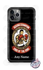 Boxing Lover Champion King of the Ring Phone Case For iPhone Samsung LG Google
