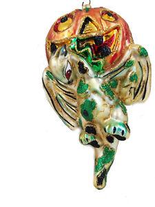 Halloween Dragon & Jack O Lantern Gargoyle Ornament Made in Poland Larry Fraga