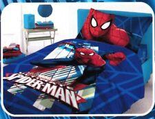Completo Lenzuolo Personaggio SPIDERMAN 1 piazza 100% puro cotone Marvel