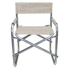 Sedia regista in alluminio 484746  pieghevole ONSHORE textilene 55x57x82cm