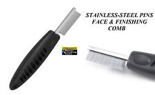 Master Grooming Tools FINE Tooth FACE & FINISHING COMB Ergonomic EYE Ear Cat Dog