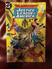 "DC Comics ""BLOWOUT"" JUSTICE LEAGUE of AMERICA #254"