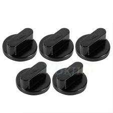 Sturdy 5Pcs Black Universal Cooker Oven Gas Stove Grill Knobs Switch Kitchen Hot
