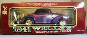 ROAD LEGENDS 1941 WILLYS COMPETITION COUPE #92278 ~ 1/18 Scale ~ NIB NEW