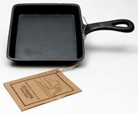 Old Mountain Cast Iron Pre seasoned Square Skillet