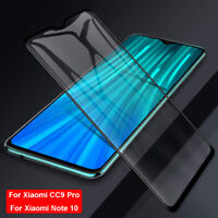 Full Curved Tempered Glass Screen Protector For Xiaomi CC9 Pro Mi Note 10/10 Pro