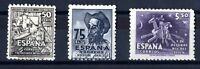Sellos de España 1947 nº 1012/1014  Cervantes nuevos stamps Spain A1