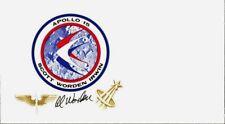 Apollo 15 Astronaut AL WORDEN Signed Commemorative Cover