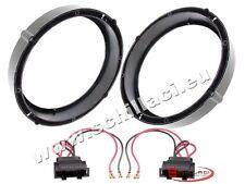 Adattatori altoparlanti Casse 165 mm +  per VolksWagen VW Scirocco portiere ante