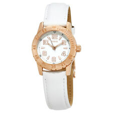 Guess Montre White Dial Ladies Leather Watch W0545L1
