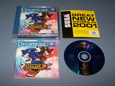 SONIC ADVENTURE 2 - Sega Dreamcast - UK PAL - EXC COND - Boxed & Complete