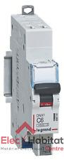 Disjoncteur unipolaire+neutre DNX3 6A Auto/Auto Legrand 406781