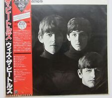 Beatles--''With the Beatles''  Japan with OBI --Red Vinyl--Lyric Sheet