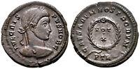 CRISPUS (323 AD) Ae3 Follis. Trier #RB 6284