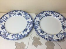 "Johnson Brothers Cornflower 2 x Salad / Dessert Plates Unused Mint Condition 9"""