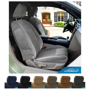 Seat Covers Velour For Honda CR-Z Coverking Custom Fit