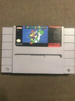 Super Mario World (Super Nintendo Entertainment System SNES) ✅Tested ✅Cleaned