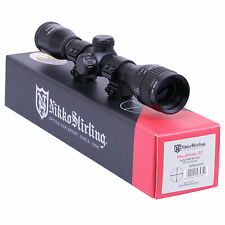Nikko MOUNTMASTER 4x32 PX AO Adj Rifle Gun Scope Sight Airgun + 11mm Mounts