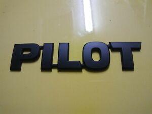 HONDA PILOT BLACK EMBLEM