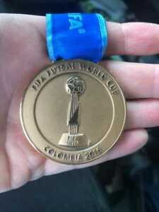 Medal FIFA FUTSAL WORLD CUP Colombia 2016 Medal Competition third place RARE