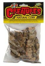 Zoo Med Creatures Natural Cork Cork Bark Brown   Free Shipping
