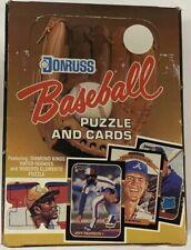 1987 Donruss Baseball Hobby Box 36 Packs Gem Original