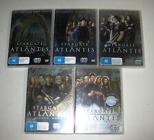 Stargate Atlantis Box Set - Complete Series 1-5 DVD (26 discs) - VGC+
