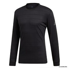 Nwt Adidas Men's Long Sleeve tee Top Black Dt4205 Size M $75