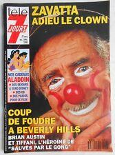 ►TELE 7 JOURS 1748/1993 ZAVATTA - BEVERLY HILLS - HELMUT BERGER - SARDOU -CARLOS