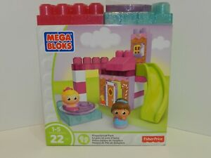 Mega Bloks Gingerbread Park Play Set by Fisher Price NEW in BOX