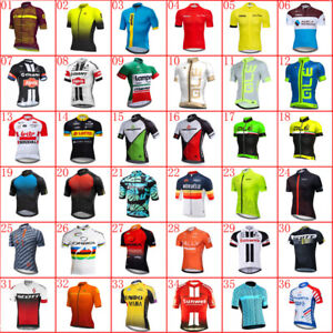 2021 Mens Team Cycling Short Sleeve Jersey Bike Shirt Bicycle Jersey Racing Tops