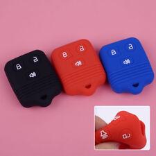 3 Button Car Fob  Remote Case Silicone Key Cover For Ford Mercury Lincoln Mazda