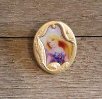 Princess Gold Frame Cameo Mystery Park Pack Rapunzel Disney Trading Pin 124569