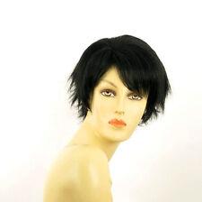 short wig for women smooth black REF ROMANE 1B PERUK