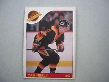 1985/86 O-PEE-CHEE NHL HOCKEY CARD #228 CAM NEELY EX/NM NM SHARP!! 85/86 OPC