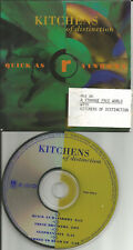 KITCHENS OF DISTINCTION Quick As Rainbows 3 UNRELEASE TRX PROMO DJ CD single