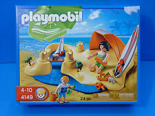 Playmobil #4149 Beach Holiday Compact Toy Set   --NEW--SEALED--
