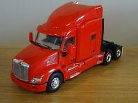 WSI PETERBILT 579 6X4 SLEEPER RED DEMONSTRATOR TRUCK CAB MODEL 02-1753 1:50
