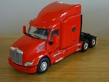 WSI PETERBILT 579 6X4 SLEEPER RED DEMONSTRATOR TRUCK CAB MODEL 02-1753 1:50