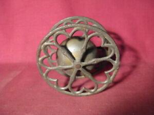 Antique Bell Top w Heart Wheels