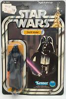 1977 KENNER STAR WARS Darth Vader FIGURE 12 BACK  MOC NEW