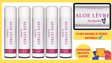 Lipstick Longue Durée Baume à Lèvres Hydratant Aloe Vera + Cire d'Abeilles FR