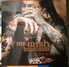 Mr. Irish Bastard ‎– The Desire For Revenge LP Golden Vinyl Still Sealed 2018