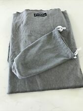 CuddleBug Baby Wrap Sling + Carrier - Newborns & Toddlers up to 36 lbs Gray Knit