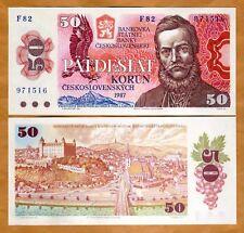 Czechoslovakia, 50 Korun, 1987, P-96, UNC > the last