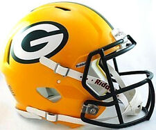 Green Bay Packers Riddell NFL Football Authentic Speed Full Size Helmet