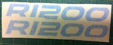 Adesivi serbatoio  BMW GS R 1200 /Azzurro - adesivi/adhesives/stickers/decal