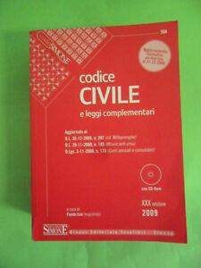 CODICE CIVILE E LEGGI COMPLEMENTARI. EDIZIONI GIURIDICHE SIMONE CON CD-ROM